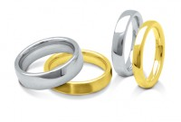 Heavy Weight Court Wedding Ring